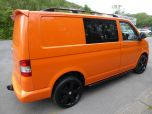 VOLKSWAGEN TRANSPORTER T32 T5 T6 TDI 140 6 SPEED WINDOW VAN WITH TAILGATE IN ORANGE - 1320 - 5