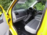 VOLKSWAGEN TRANSPORTER T32 T5 T6 TDI 6 SEAT KOMBI STARTLINE 6 SPEED 140 SWB WITH TAILGATE IN YELLOW - 1371 - 13