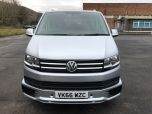 VOLKSWAGEN TRANSPORTER T6 TDI 204 DSG AUTO SWB 8/9 SEAT SHUTTLE SE BMT EURO SIX IN SILVER WITH LEATHER SEATS - 1513 - 7