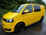 VOLKSWAGEN TRANSPORTER T32 T5 T6 TDI 6 SEAT KOMBI STARTLINE 6 SPEED 140 SWB WITH TAILGATE IN YELLOW - 1371 - 1
