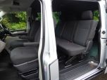 VOLKSWAGEN TRANSPORTER T32 T6 TDI 150 6 SPEED 5 SEAT KOMBI HIGHLINE BMT LWB - EURO SIX WITH TAILGATE IN SILVER - 1468 - 6
