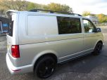 VOLKSWAGEN TRANSPORTER T6 TDI 7 SPEED DSG AUTO 5 SEAT KOMBI HIGHLINE BMT EURO SIX IN SILVER WITH TAILGATE - 1497 - 4