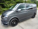 VOLKSWAGEN TRANSPORTER T32 T6 TDI 150 5 SEAT KOMBI HIGHLINE BMT WITH TAILGATE - EURO SIX IN INDIUM GREY - 1422 - 1