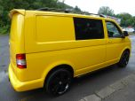 VOLKSWAGEN TRANSPORTER T32 T5 T6 TDI 6 SEAT KOMBI STARTLINE 6 SPEED 140 SWB WITH TAILGATE IN YELLOW - 1371 - 5