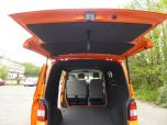 VOLKSWAGEN TRANSPORTER T32 T5 T6 TDI 140 6 SPEED WINDOW VAN WITH TAILGATE IN ORANGE - 1320 - 8
