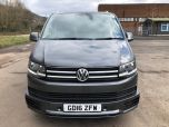 VOLKSWAGEN TRANSPORTER T6 TDI 7 SPEED DSG AUTO 8/9 SEAT SHUTTLE SE BMT LWB IN INDIUM GREY - EURO SIX WITH REVERSE CAMERA - 1596 - 7