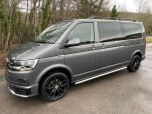 VOLKSWAGEN TRANSPORTER T6 TDI 9 SEAT SHUTTLE SE LWB IN INDIUM GREY - EURO SIX - 1980 - 1