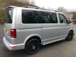 VOLKSWAGEN TRANSPORTER T6 TDI 204 DSG AUTO SWB 8/9 SEAT SHUTTLE SE BMT EURO SIX IN SILVER WITH LEATHER SEATS - 1513 - 5
