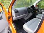 VOLKSWAGEN TRANSPORTER T32 T5 T6 TDI 140 6 SPEED WINDOW VAN WITH TAILGATE IN ORANGE - 1320 - 13