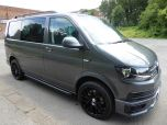 VOLKSWAGEN TRANSPORTER T32 T6 TDI 150 5 SEAT KOMBI HIGHLINE BMT WITH TAILGATE - EURO SIX IN INDIUM GREY - 1422 - 2