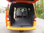 VOLKSWAGEN TRANSPORTER T32 T5 T6 TDI 140 6 SPEED WINDOW VAN WITH TAILGATE IN ORANGE - 1320 - 9