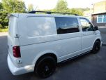 VOLKSWAGEN TRANSPORTER T6 TDI 150 6 SPEED STARTLINE BMT WITH AIR CON - RARE VAN - EURO SIX IN CANDY WHITE - 1442 - 5