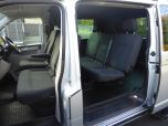 VOLKSWAGEN TRANSPORTER T6 TDI 7 SPEED DSG AUTO 5 SEAT KOMBI HIGHLINE BMT EURO SIX IN SILVER WITH TAILGATE - 1497 - 6