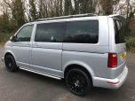 VOLKSWAGEN TRANSPORTER T6 TDI 204 DSG AUTO SWB 8/9 SEAT SHUTTLE SE BMT EURO SIX IN SILVER WITH LEATHER SEATS - 1513 - 3