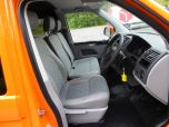 VOLKSWAGEN TRANSPORTER T32 T5 T6 TDI 140 6 SPEED WINDOW VAN WITH TAILGATE IN ORANGE - 1320 - 11