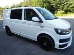 VOLKSWAGEN TRANSPORTER T6 TDI 150 6 SPEED STARTLINE BMT WITH AIR CON - RARE VAN - EURO SIX IN CANDY WHITE - 1442 - 2