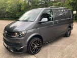 VOLKSWAGEN TRANSPORTER T6 TDI HIGHLINE SWB IN INDIUM GREY - EURO SIX - 1786 - 1