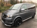 VOLKSWAGEN TRANSPORTER T6 TDI 9 SEAT SHUTTLE SWB BMT IN INDIUM GREY - EURO SIX - 1510 - 1