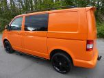 VOLKSWAGEN TRANSPORTER T32 T5 T6 TDI 140 6 SPEED WINDOW VAN WITH TAILGATE IN ORANGE - 1320 - 3