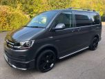 VOLKSWAGEN TRANSPORTER T6 TDI 150 6 SPEED 8 SEAT SHUTTLE SE SWB IN INDIUM GREY - EURO SIX - 1800 - 1