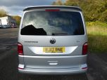 VOLKSWAGEN TRANSPORTER T6 TDI 7 SPEED DSG AUTO 5 SEAT KOMBI HIGHLINE BMT EURO SIX IN SILVER WITH TAILGATE - 1497 - 3