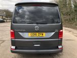 VOLKSWAGEN TRANSPORTER T6 TDI 7 SPEED DSG AUTO 8/9 SEAT SHUTTLE SE BMT LWB IN INDIUM GREY - EURO SIX WITH REVERSE CAMERA - 1596 - 4