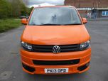VOLKSWAGEN TRANSPORTER T32 T5 T6 TDI 140 6 SPEED WINDOW VAN WITH TAILGATE IN ORANGE - 1320 - 7