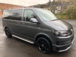 VOLKSWAGEN TRANSPORTER T6 TDI 9 SEAT SHUTTLE SWB BMT IN INDIUM GREY - EURO SIX - 1510 - 2