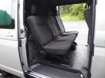 VOLKSWAGEN TRANSPORTER T32 T6 TDI 150 6 SPEED 5 SEAT KOMBI HIGHLINE BMT LWB - EURO SIX WITH TAILGATE IN SILVER - 1468 - 11