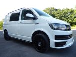 VOLKSWAGEN TRANSPORTER T6 TDI 150 6 SPEED STARTLINE BMT WITH AIR CON - RARE VAN - EURO SIX IN CANDY WHITE - 1442 - 7
