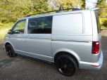 VOLKSWAGEN TRANSPORTER T6 TDI 7 SPEED DSG AUTO 5 SEAT KOMBI HIGHLINE BMT EURO SIX IN SILVER WITH TAILGATE - 1497 - 5